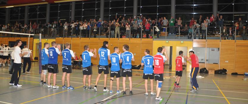 Volleyballtempel Strelitzhalle
